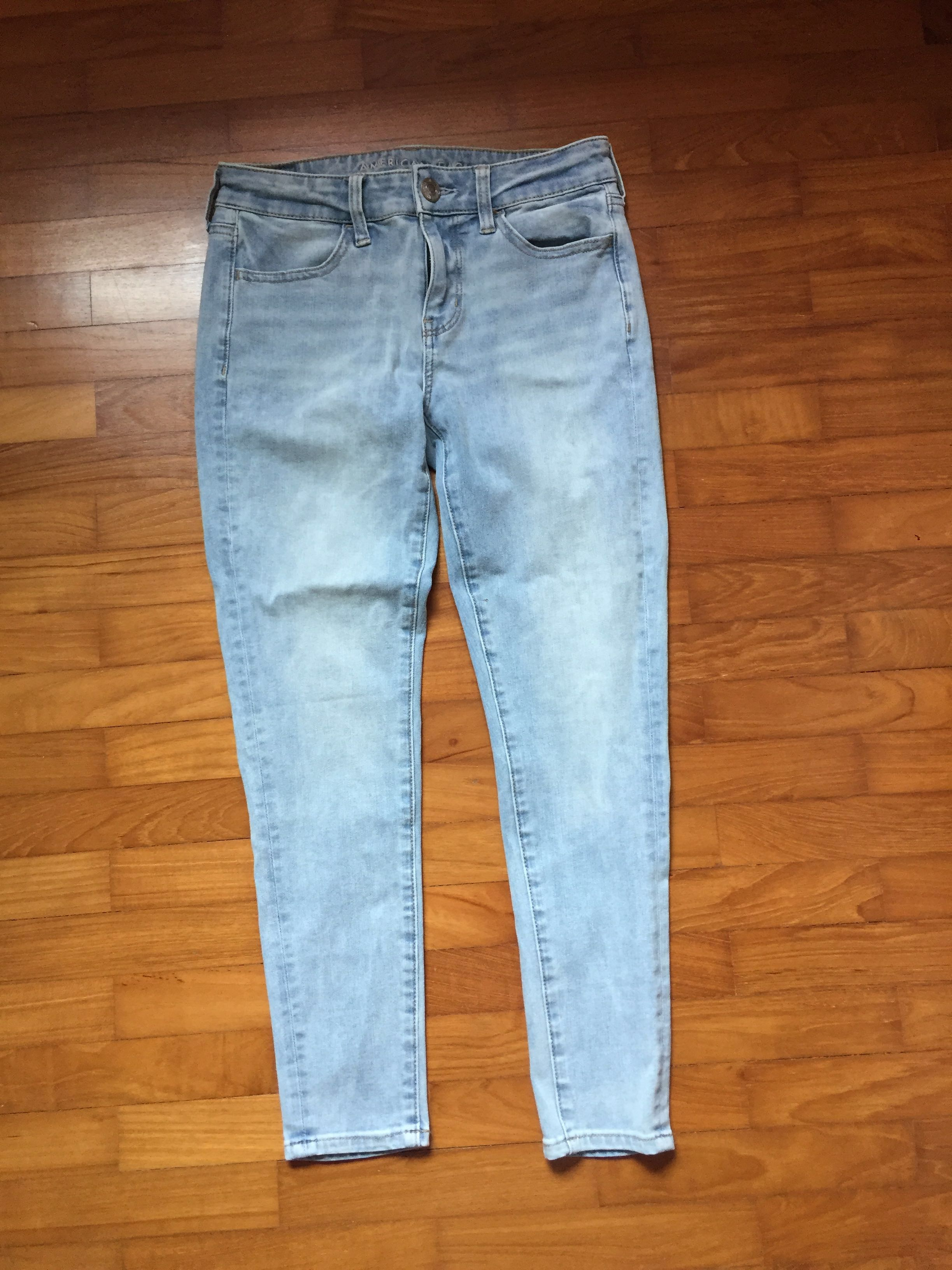 54c23419e47a6 Super High-Waisted Jegging, Light Aglow | American Eagle Outfitters. photo  photo ... AE 360 ...
