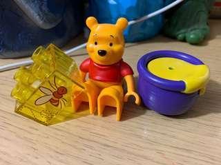 Lego 5945 Winnie the pooh 三件 新淨
