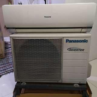 Panasonic 1.5HP Split Type airconditioner inverter Econavi
