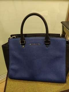 Michael Kors Selma Saffiano Leather Medium Satchel Bag
