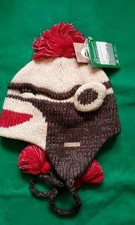 Paul Frank大嘴猴造型針織毛帽