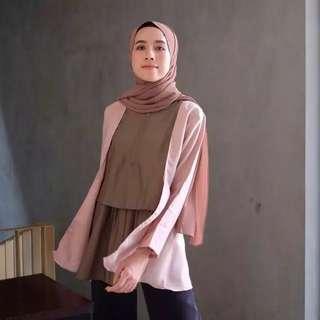 Ladyfameshop baru sale blouse busui atasan