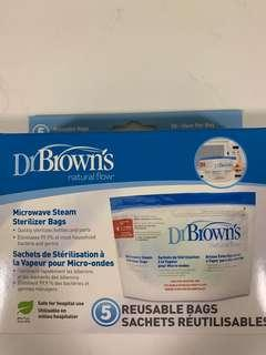 🚚 Dr Brown Microwave Steam Steriliser Bags