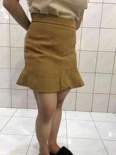 Brown Skirt black skirt bkk