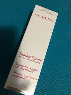 Clarins double serum 50ml 100%new & real