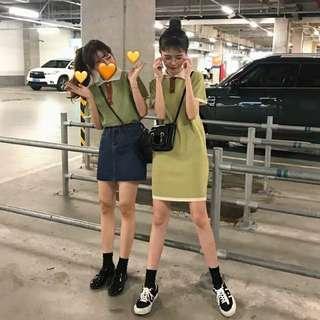 [PO] Korean summer style collar dress/top
