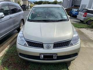 2005 Nissan Tiida 65,000km