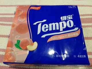 Tempo Fuzzy Peach Tissue Limited Edition