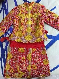 龙凤褂 / Kua / Chinese Traditional Wedding Dress