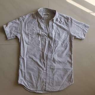 Uniqlo Short Sleeve Oxford Shirt