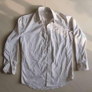 Uniqlo Long Sleeve Easycare (easy care) shirt