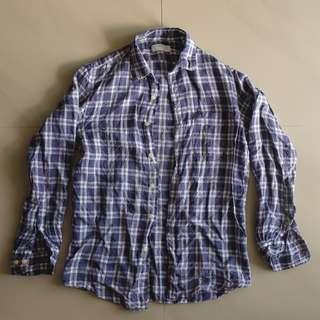 Uniqlo Linen Long Sleeve Shirt