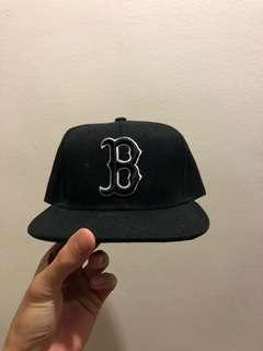 B baseball cap