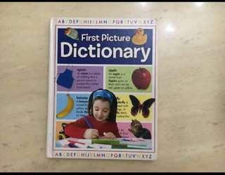 🚚 First Picture Dictionary