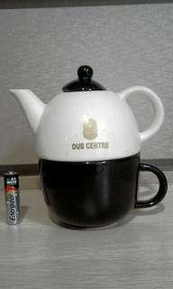 Vintage OUB Teapot With Cup