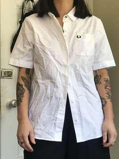 Fred Perry Button Down, US6, Fits like a Small