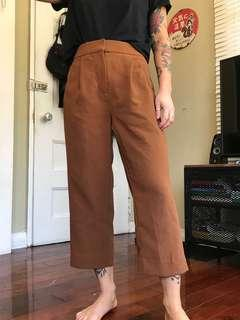 Aritzia Wilfred Cropped Pants, Size 00