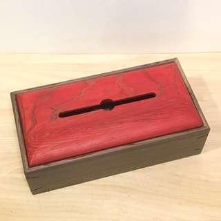 日本手作品牌Design Labo i 木作面紙盒