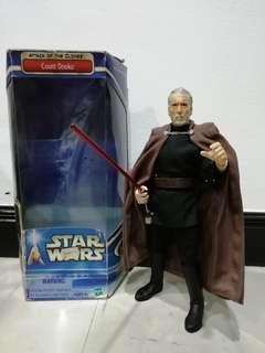Star Wars : Count Dooku 12""