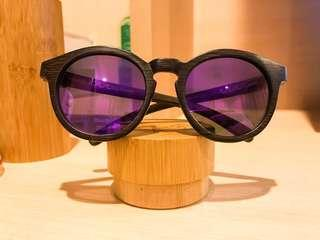 Woody Frames Purple Haze Sunglasses (polarised)