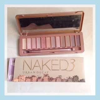 Naked 3 eyeshadow pallete