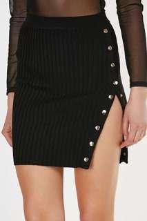 Korean button down skirt