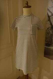 Stripes Mididress