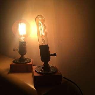 🚚 復古木台小夜燈