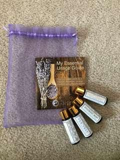 Essential Oil Aroma Therapy Set
