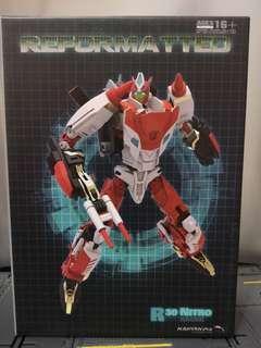 Transformers Reformatted Nitro Nitro Convoy