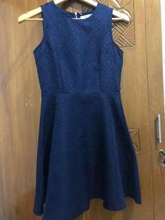Chic Simple Navy Dress