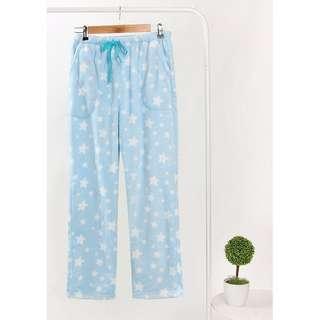 珊瑚絨居家長褲