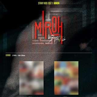 [PENDING] STRAY KIDS - Clé 1 : MIROH (Normal Edition)