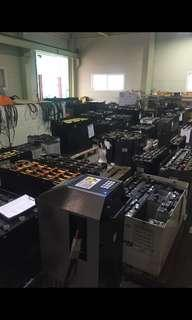 Trade in your old Forklifts battery