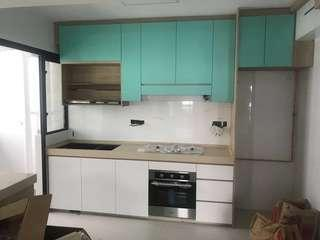💥HARI RAYA 20ft KITCHEN CABINET WITH 10ft QUARTZ TOP PACKAGE💥