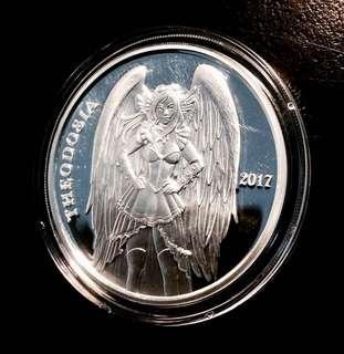 Theodosia 1 oz 999 silver