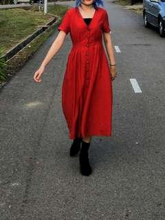 Editor's Market Red Dress