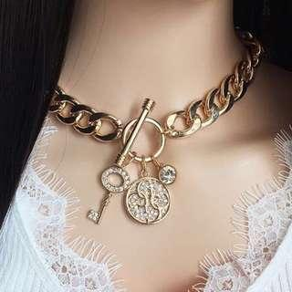 Guess Gold Chain Necklace