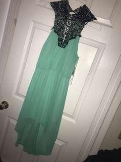 Charlotte Russe mint dress
