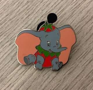 迪士尼襟章 小飛象 Disney Pin Dumbo Pin  game pin 迪士尼徽章 可交換 市集 遊戲