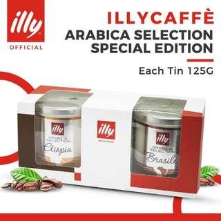illy Arabica Selection Special Bundle Edition (Ground Powder) 2x125g
