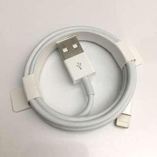 原裝蘋果充電線 original Apple lighting charging cable data transfer 數據 傳輸線 認證 全新 new