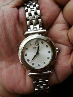 Seiko Silver Tone Dress Watch