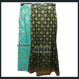 🆕 Songket printed skirt