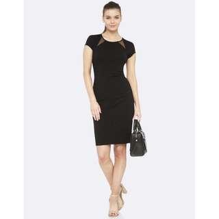 Oxford Megan Ponti Work Dress Size 6