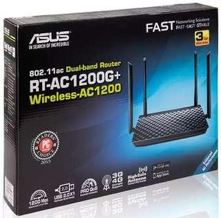 Asus Wireless AC1200 Dual-Band Router - (RT-AC1200G+)