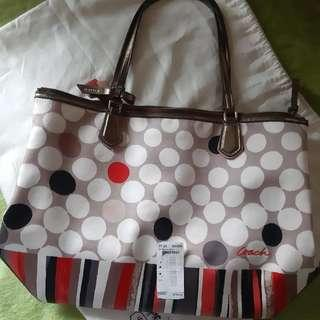 Authentic Coach tote bag Repriced