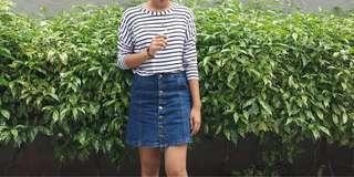Sale!! Button down Skirt