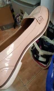 Free delivery! Size 6 1/2 Lower East Side light pink patent loafers