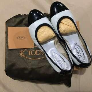 Authentic Tod's Ballerina Shoes